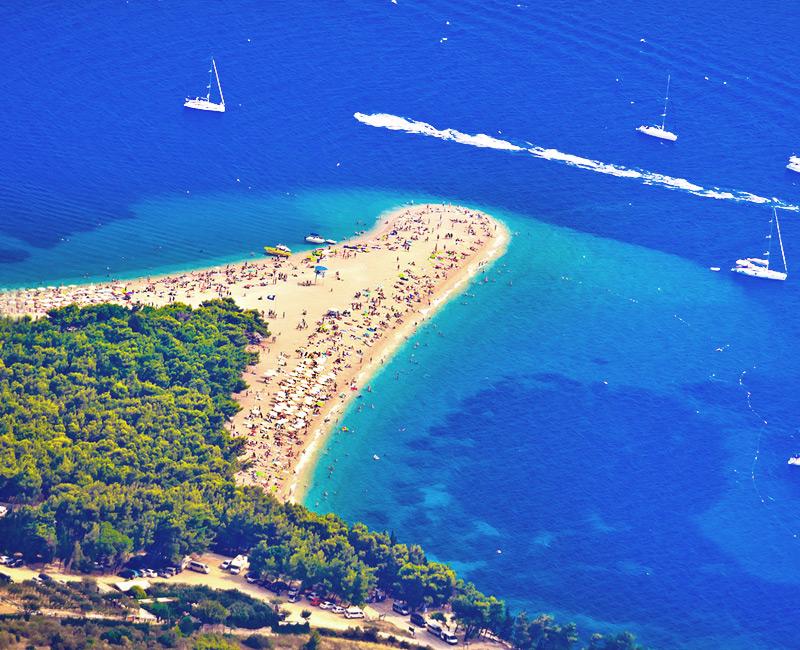 Золотой Мыс - уникальный пляж в Хорватии